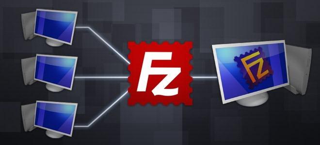FileZilla настройка ftp клиента